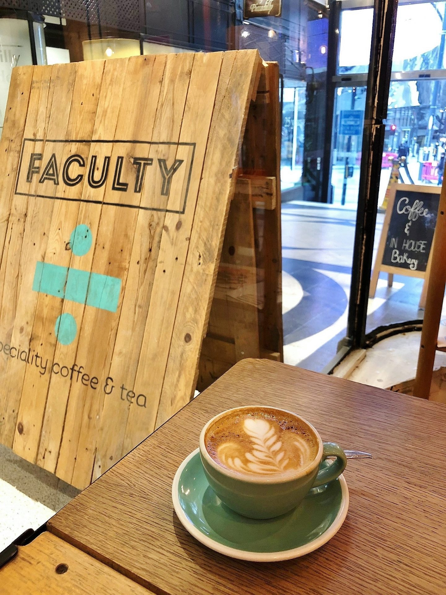 Faculty Coffee Piccadilly Arcade
