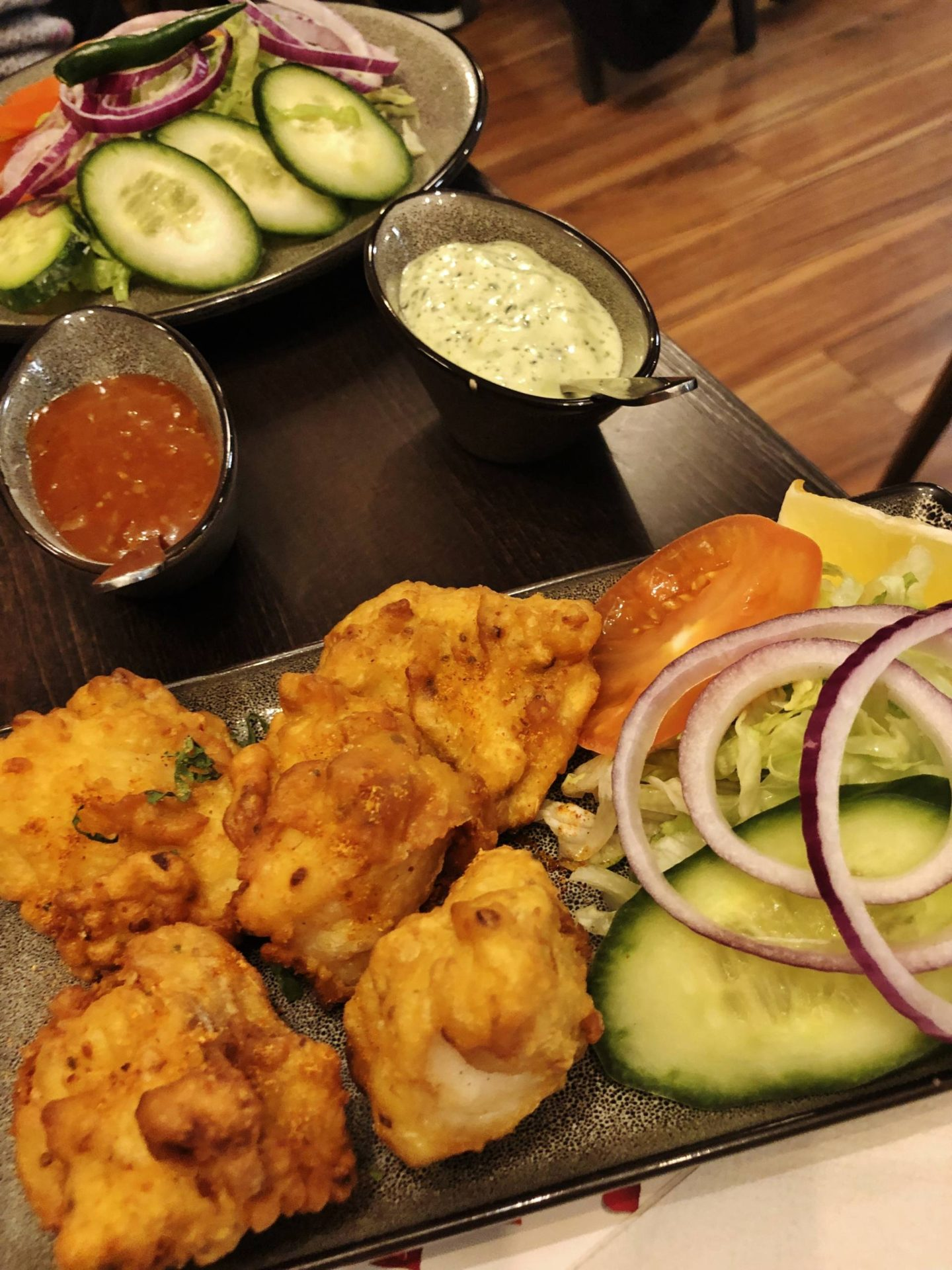 Summer House Bar & Grill Fish Pakoras