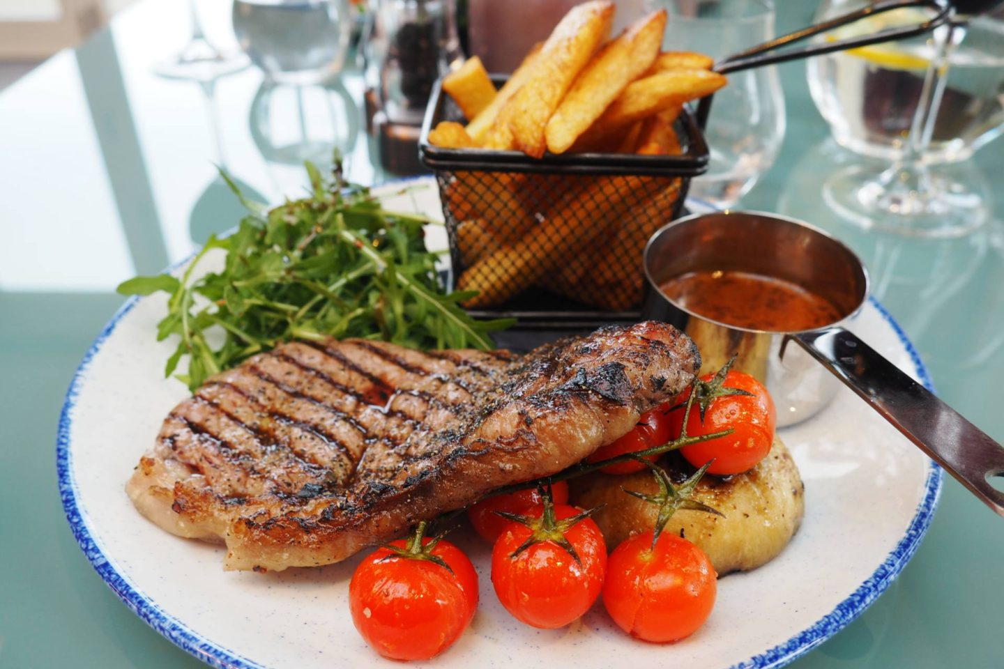 Aldwyns at Ellerslie Restaurant review sirloin