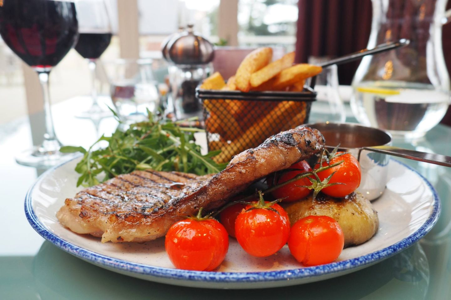 Aldwyns at Ellerslie Restaurant review sirloin steak