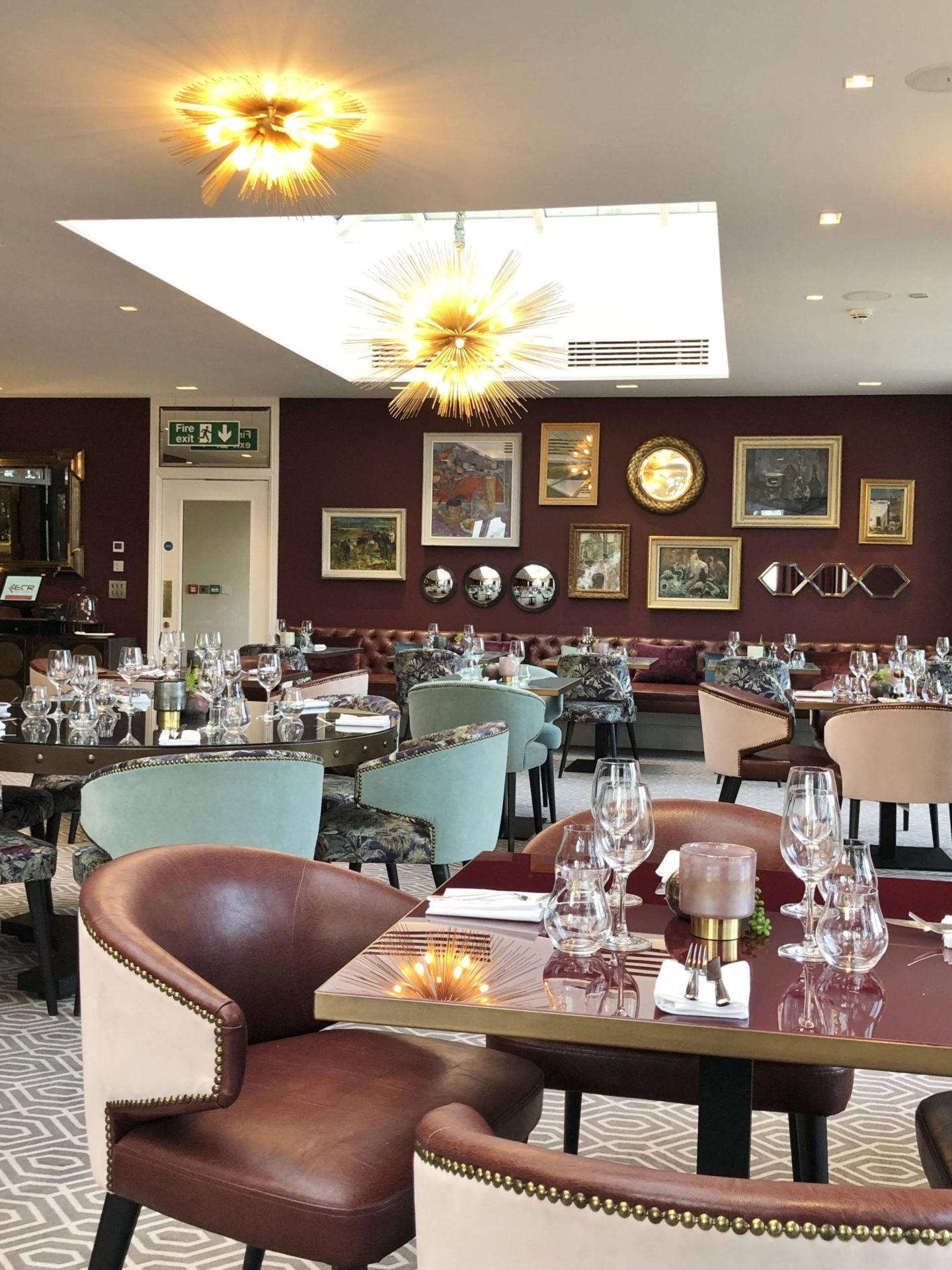 Aldwyns at Ellerslie Restaurant review dining room
