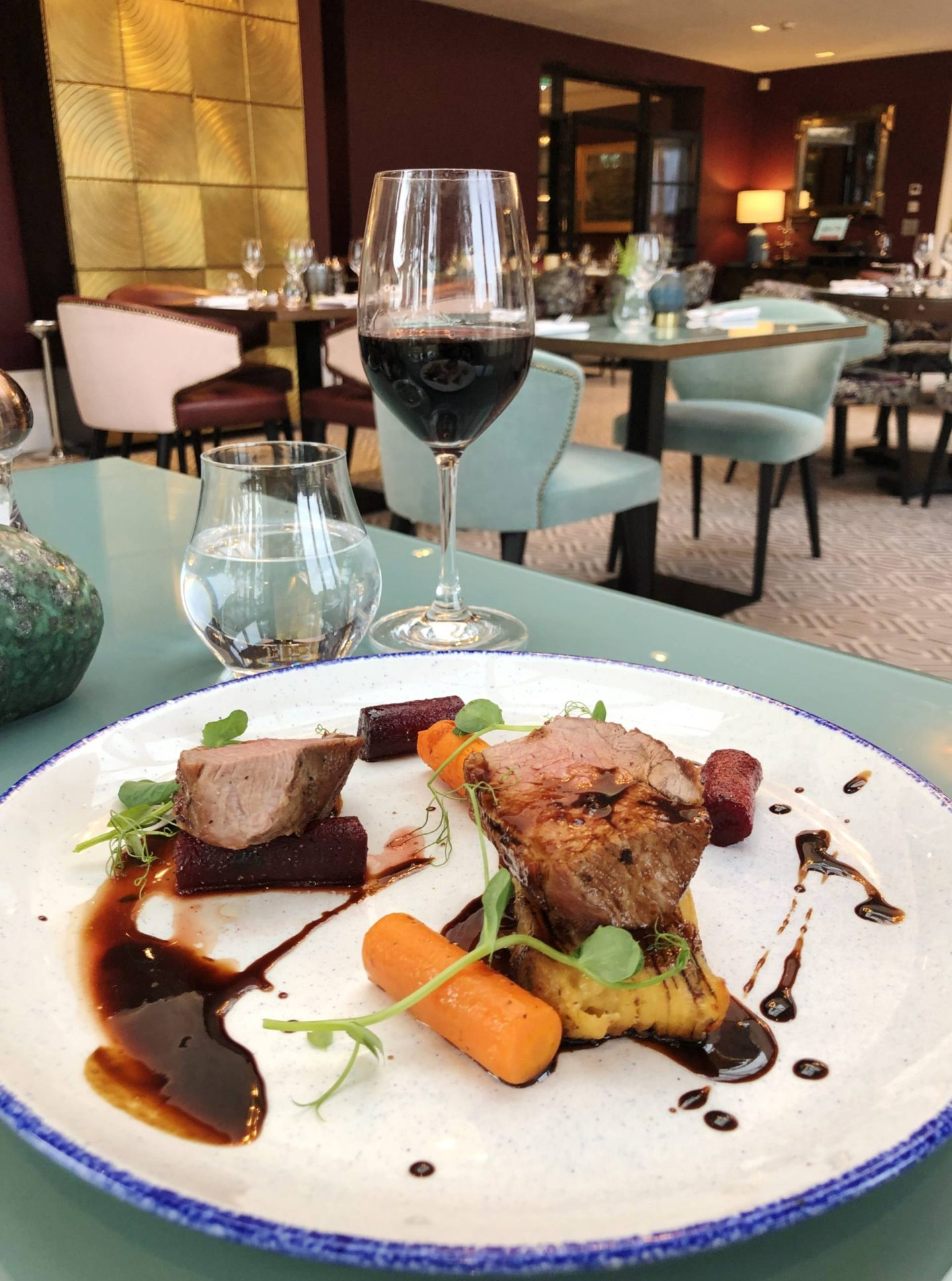 Aldwyns at Ellerslie Restaurant review lamb menu