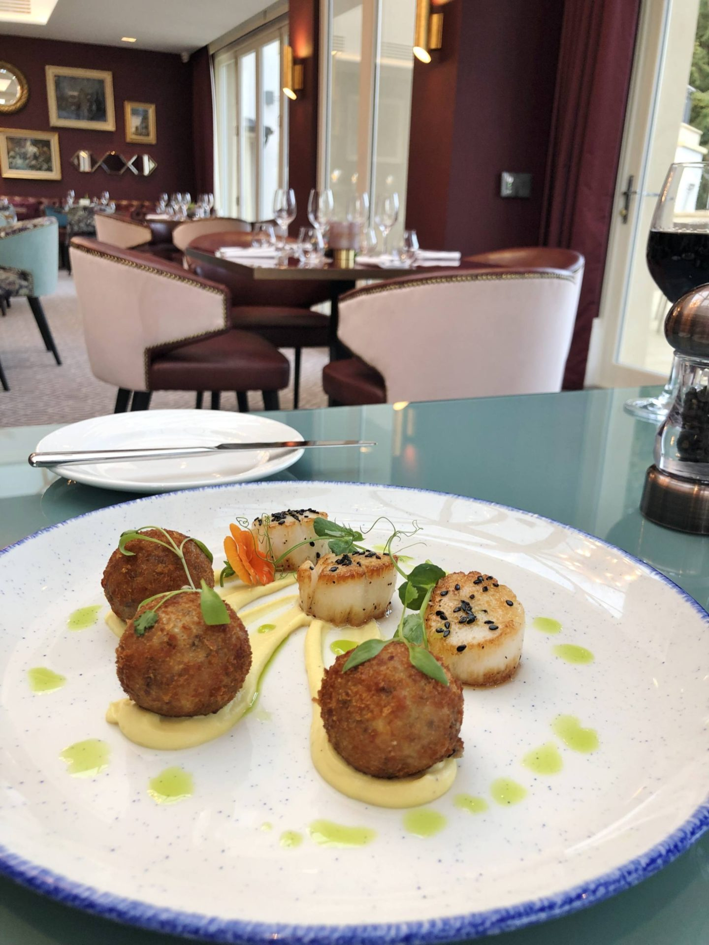 Aldwyns at Ellerslie Restaurant review scallops