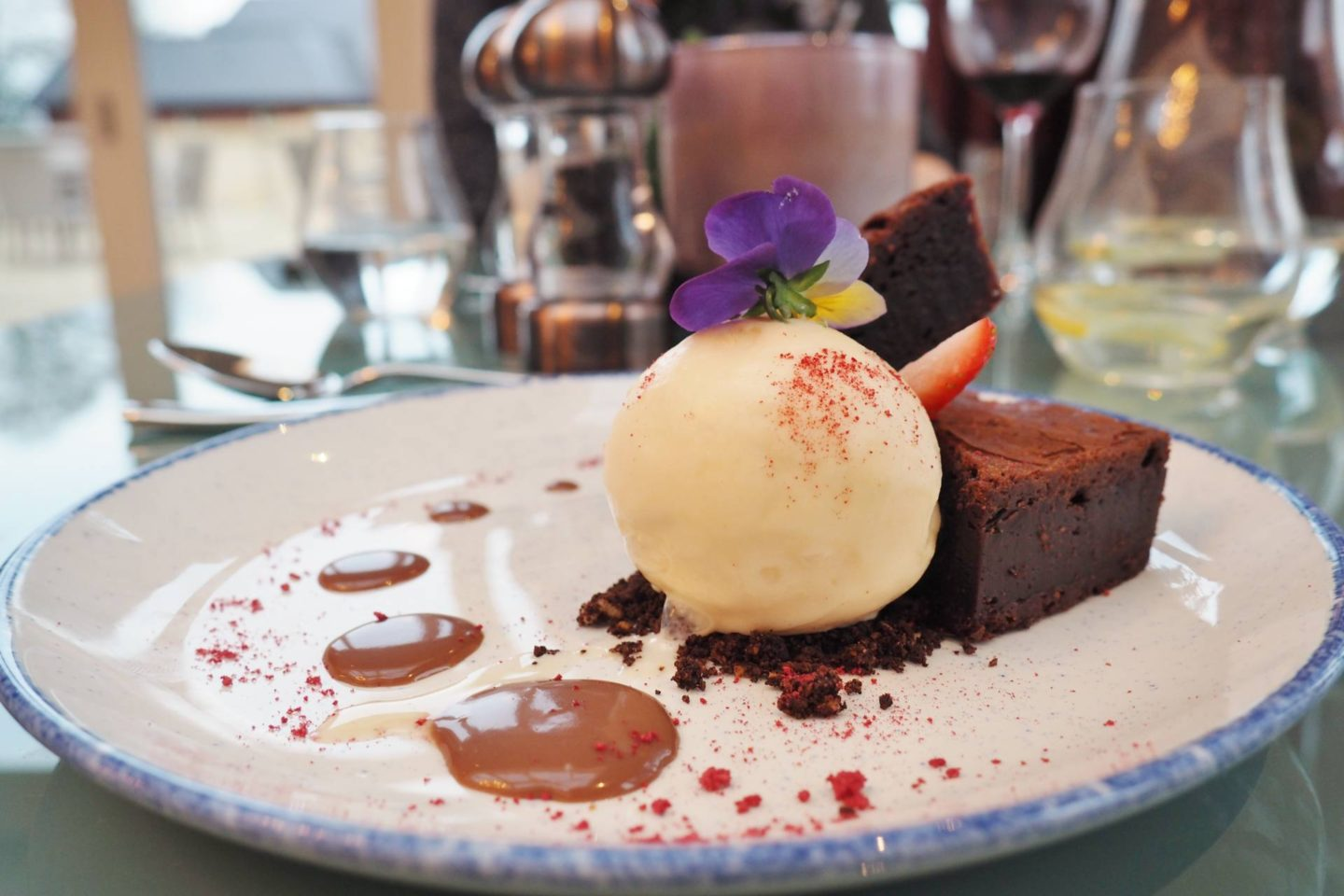Aldwyns at Ellerslie Restaurant review brownie