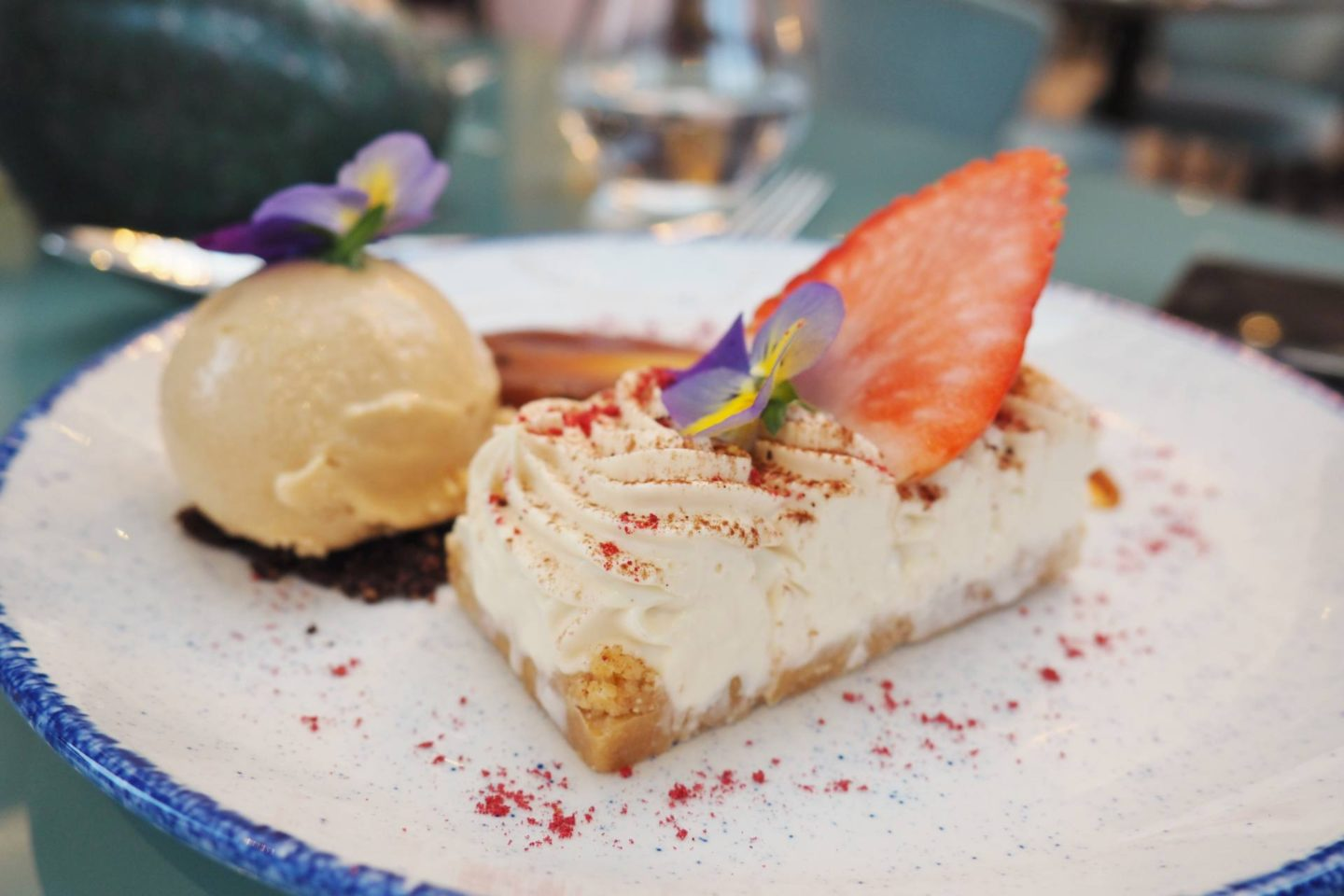 Aldwyns at Ellerslie Restaurant review baileys cheesecake
