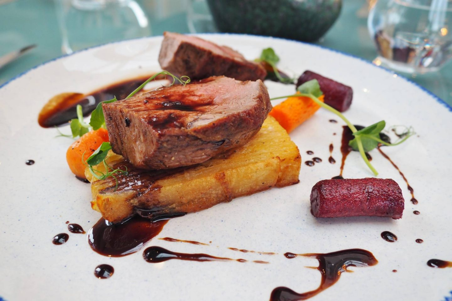 Aldwyns at Ellerslie Restaurant review lamb main