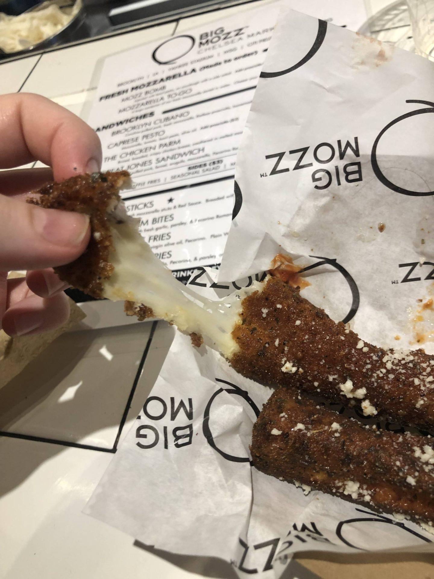 chelsea market nyc mozz sticks