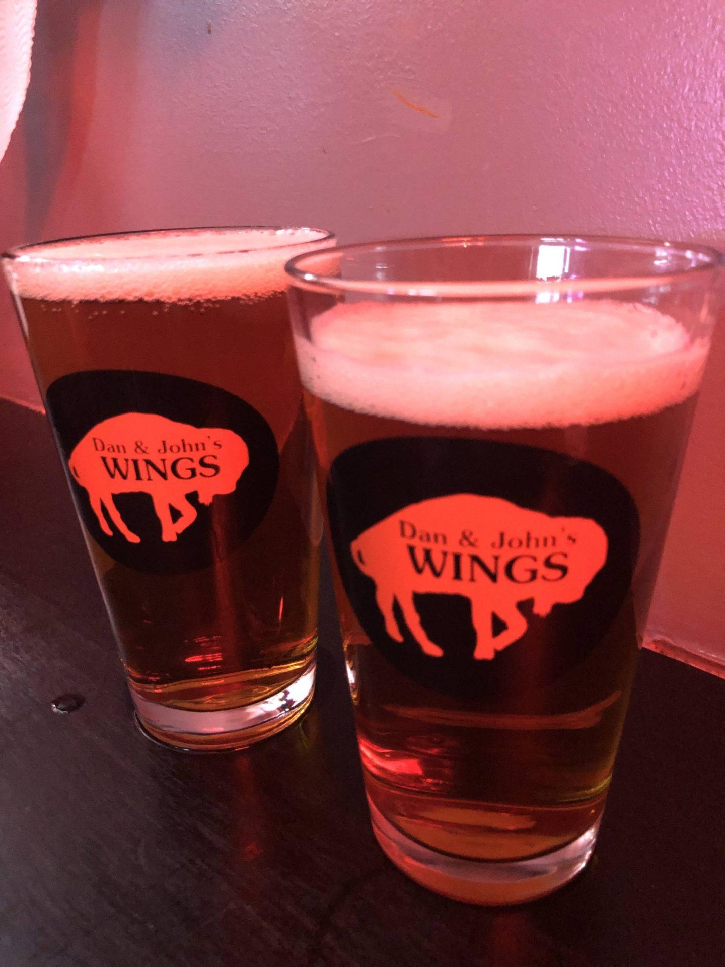 Dan & Johns Wings beer