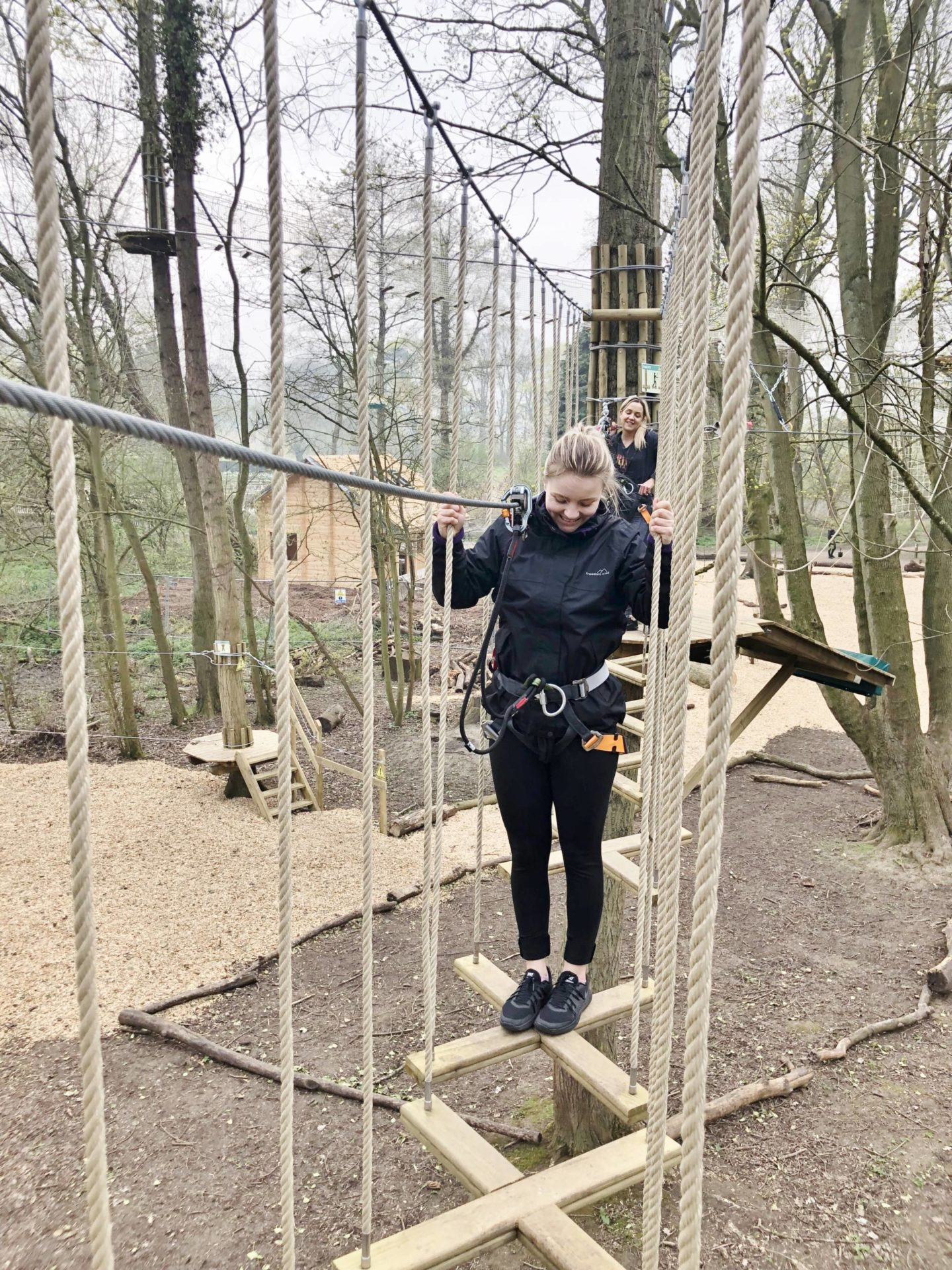 Go Ape Faye Crossing