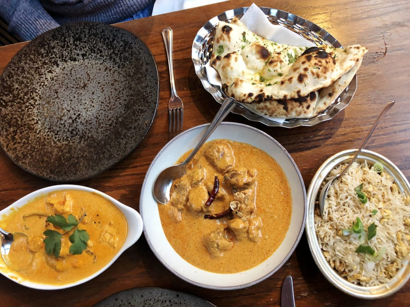Jojolapa curry dishes - chitway and phewa tal ko maacha