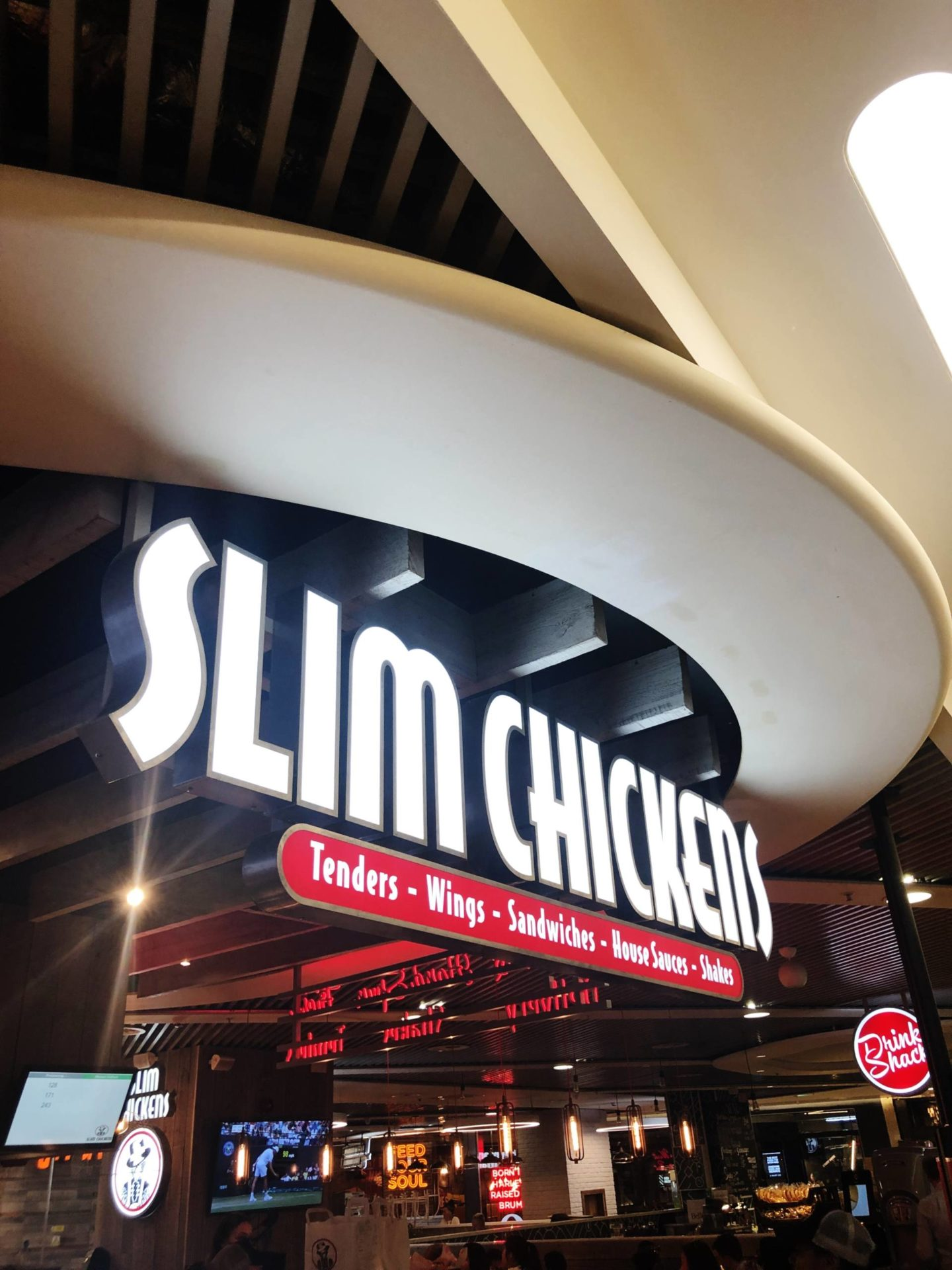 Slim Chickens Sign Birmingham