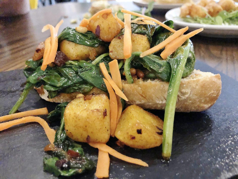 spinach catalana