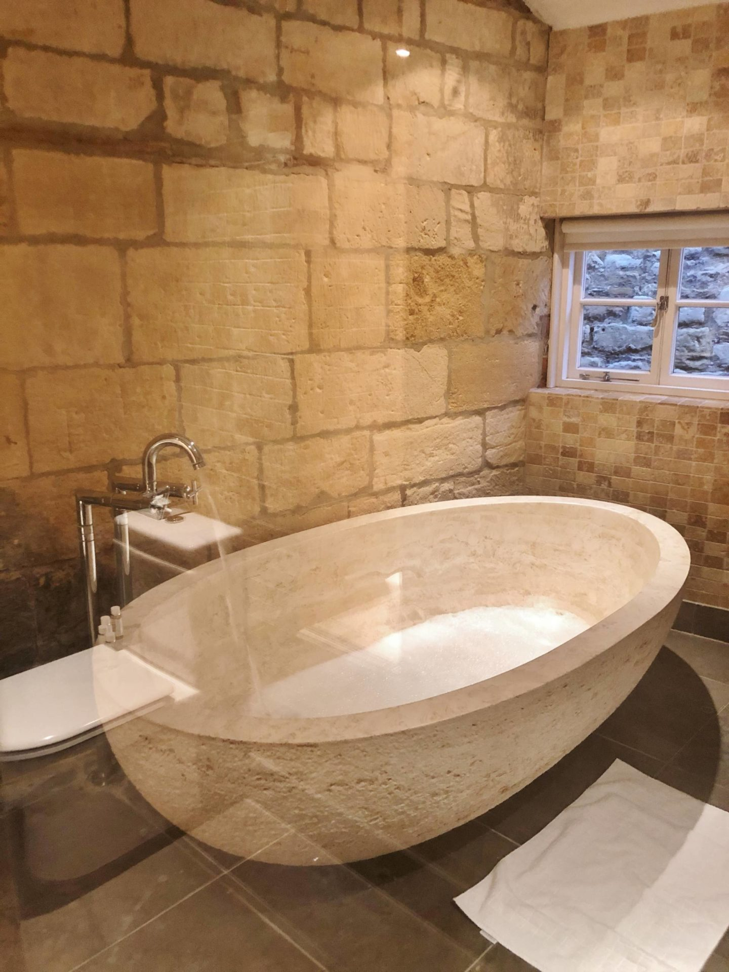 Emma Victoria Stokes Cotswold House Hotel & Spa Grevel Suit Bathroom