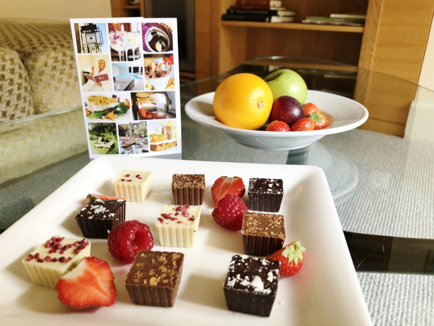 Emma Victoria Stokes Cotswold House Hotel & Spa Chocolates
