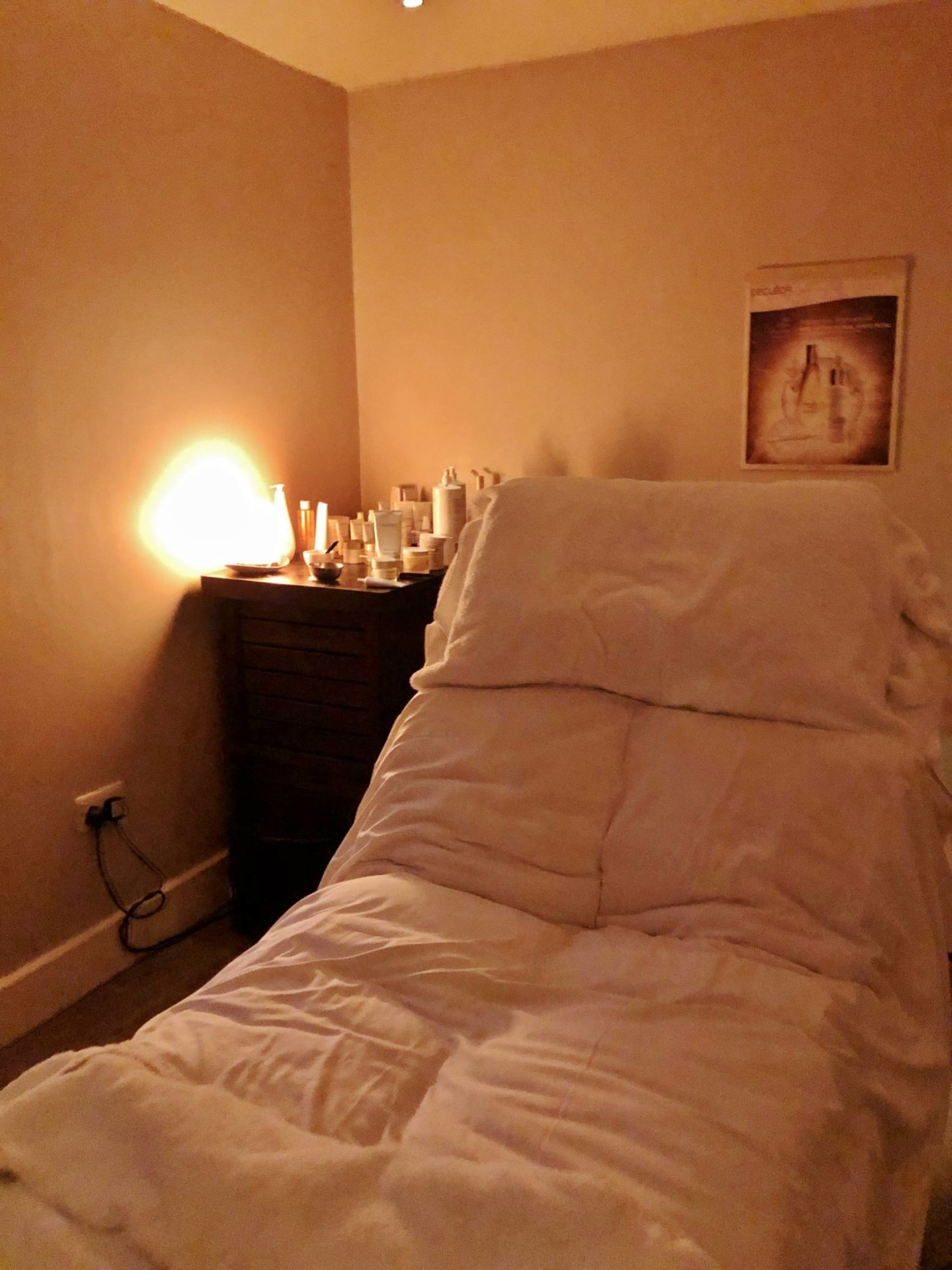 Emma Victoria Stokes Cotswold House Hotel & Spa Massage Bed