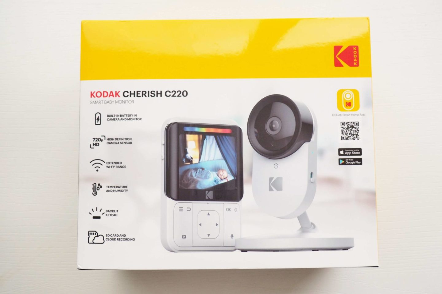 Kodak Cherish Camera Baby Monitor - must-have baby products