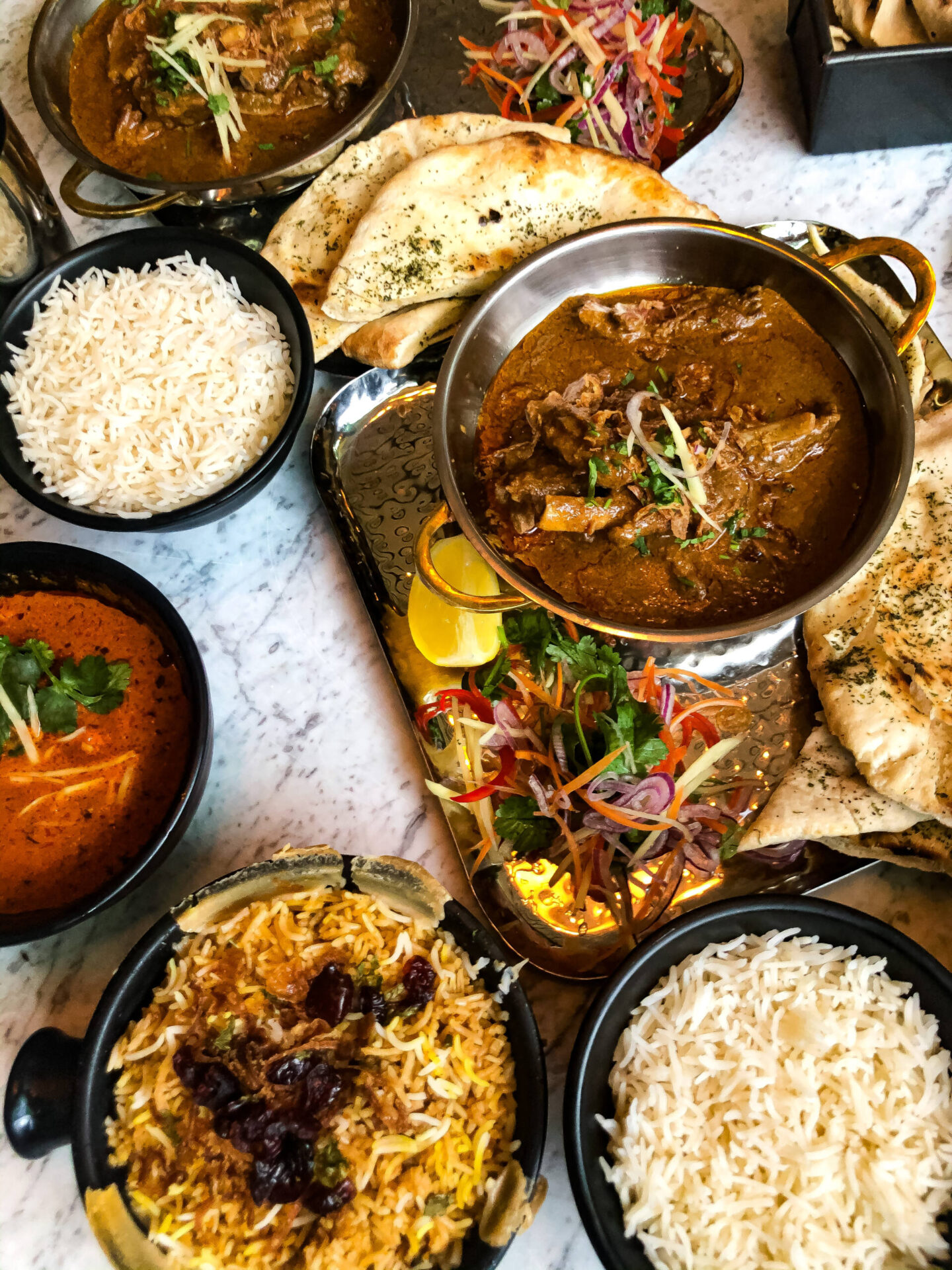 Dishoom Birmingham Menu Mutton Chaap Korma Biryani Rice Ruby Chicken
