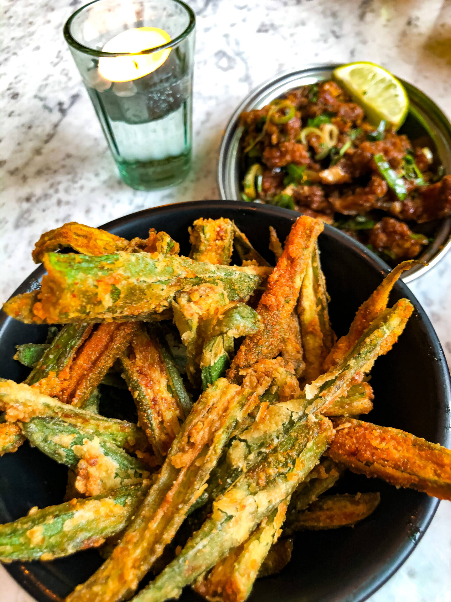 Dishoom Birmingham Okra Fries