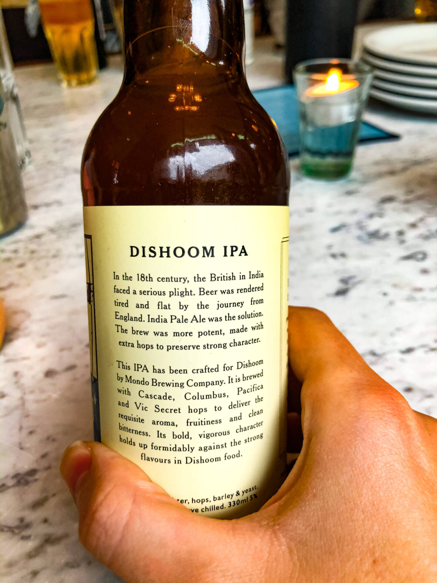 Dishoom Pale Ale 5%