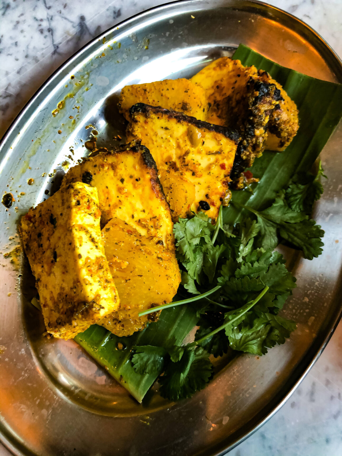 Dishoom Birmingham Pinapple Paneer