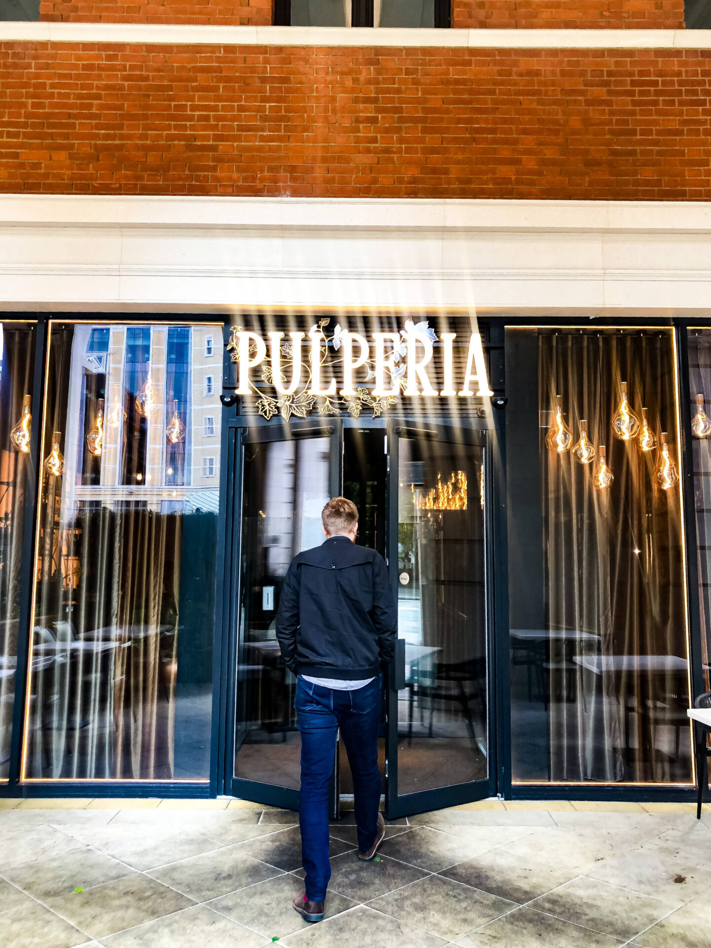 Pulperia Birmingham Entrance Doors