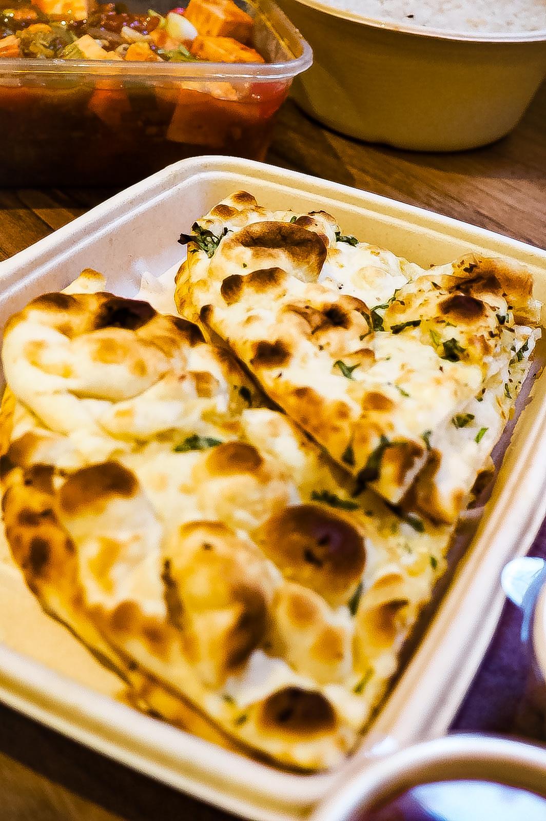 Pinch of masala naan bread