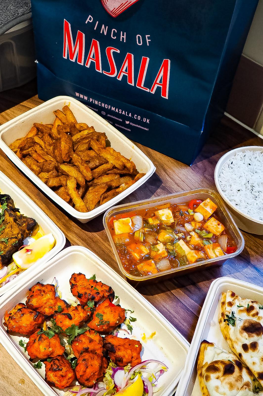Pinch of Masala Food
