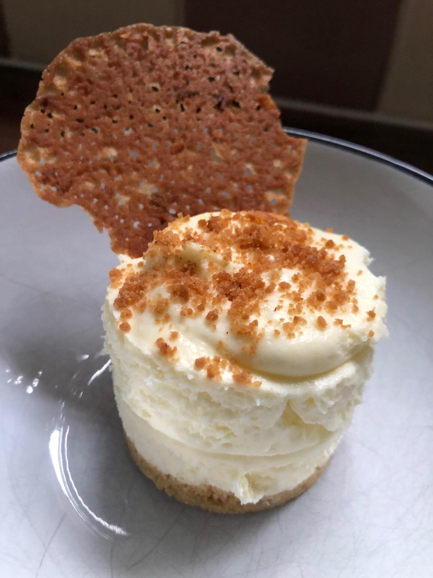 Pinch of Masala Cheesecake