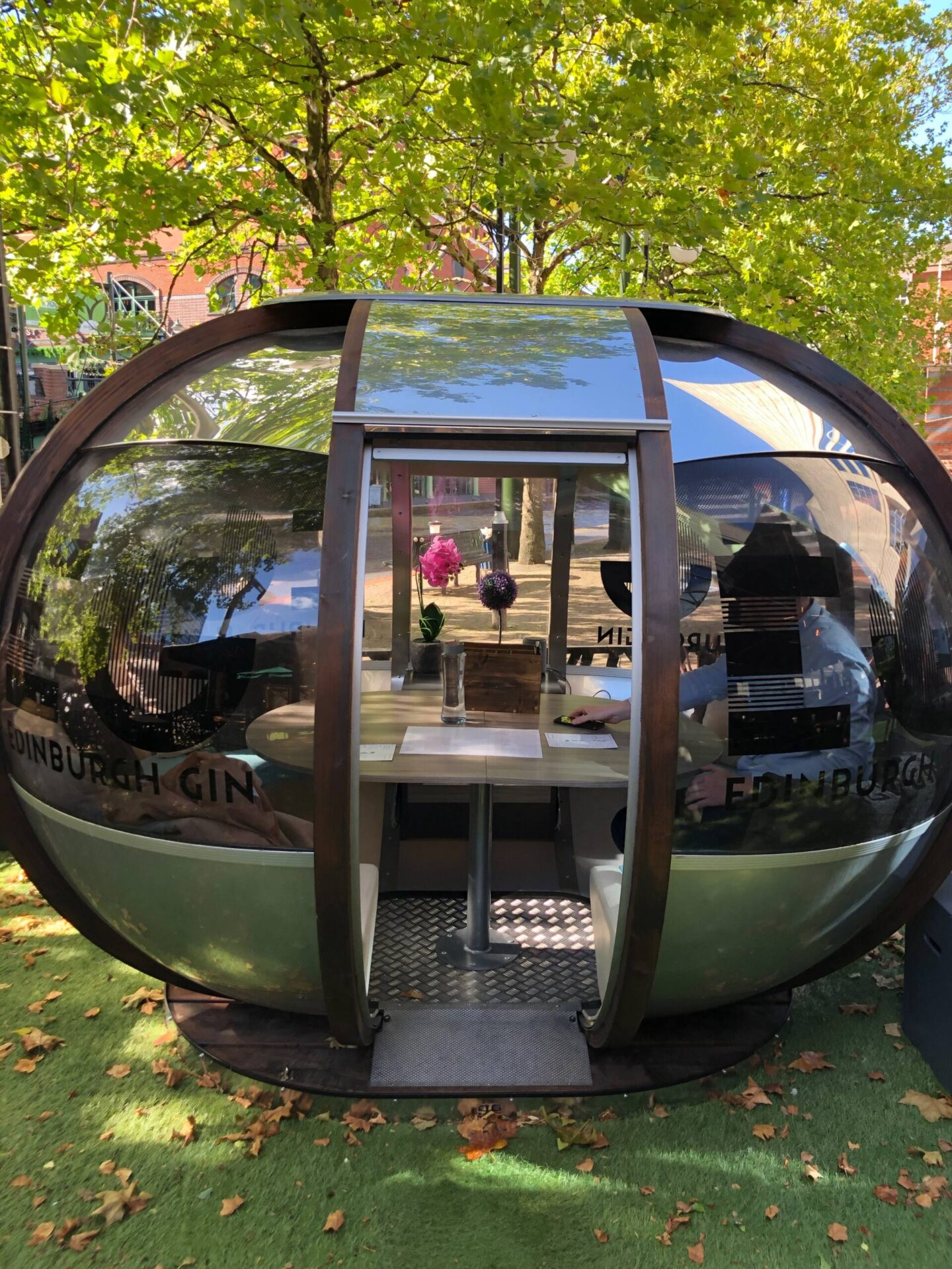 Craft Dining Birmingham outdoor pod