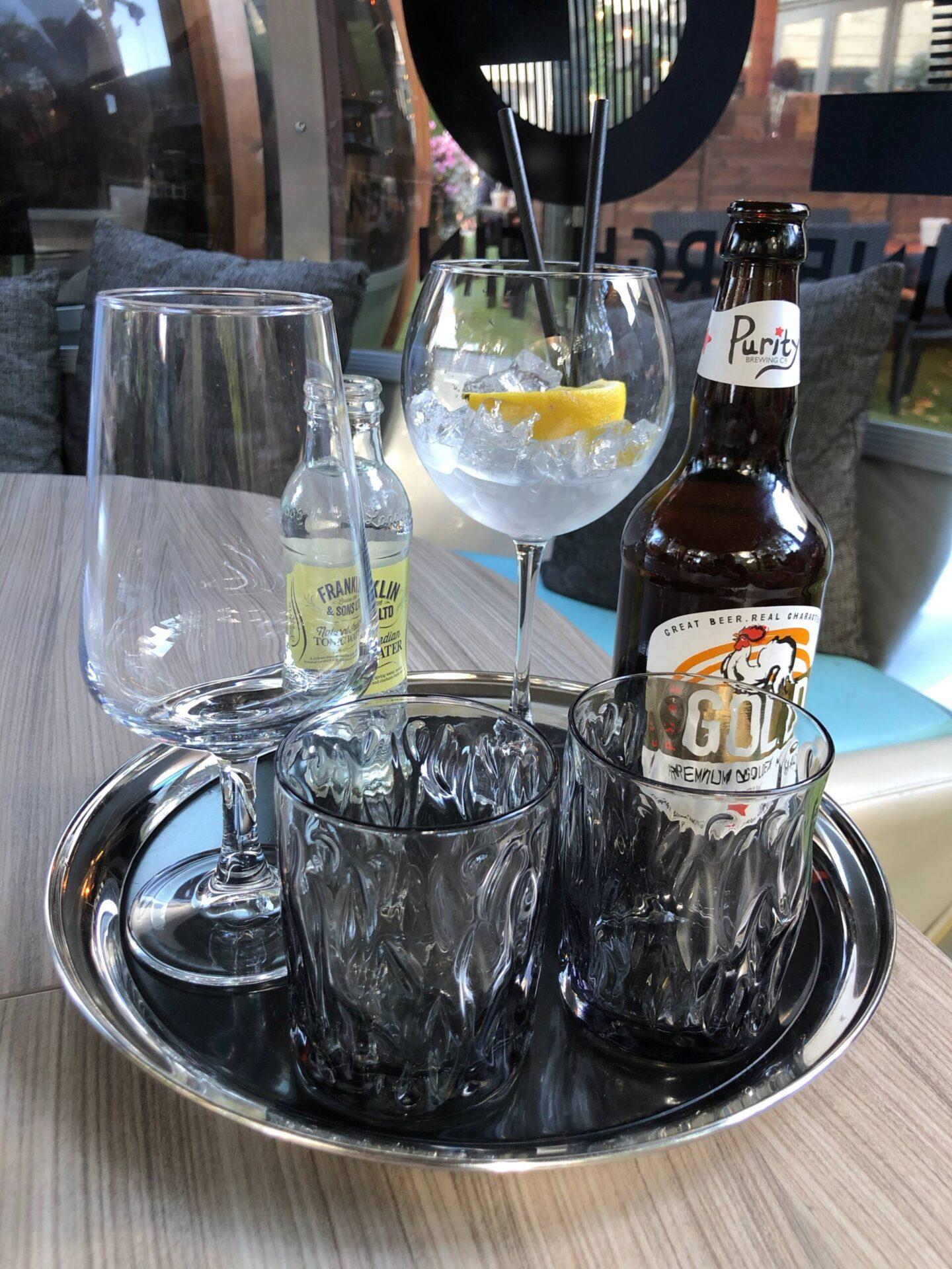 Craft Dining Birmingham gin