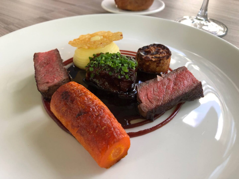 Craft Dining Birmingham beef dish