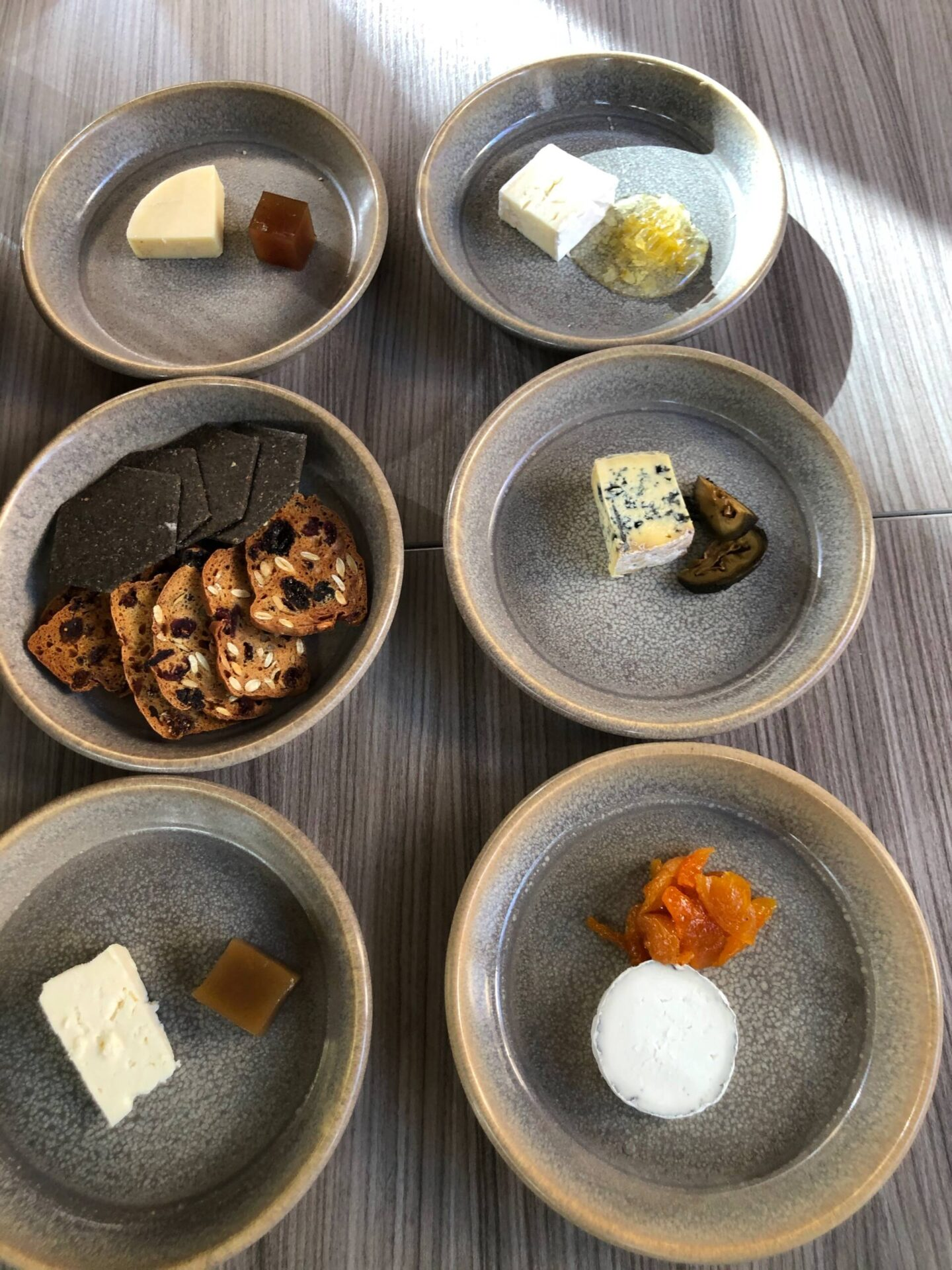 Craft Dining Birmingham cheese courses 6 dishes