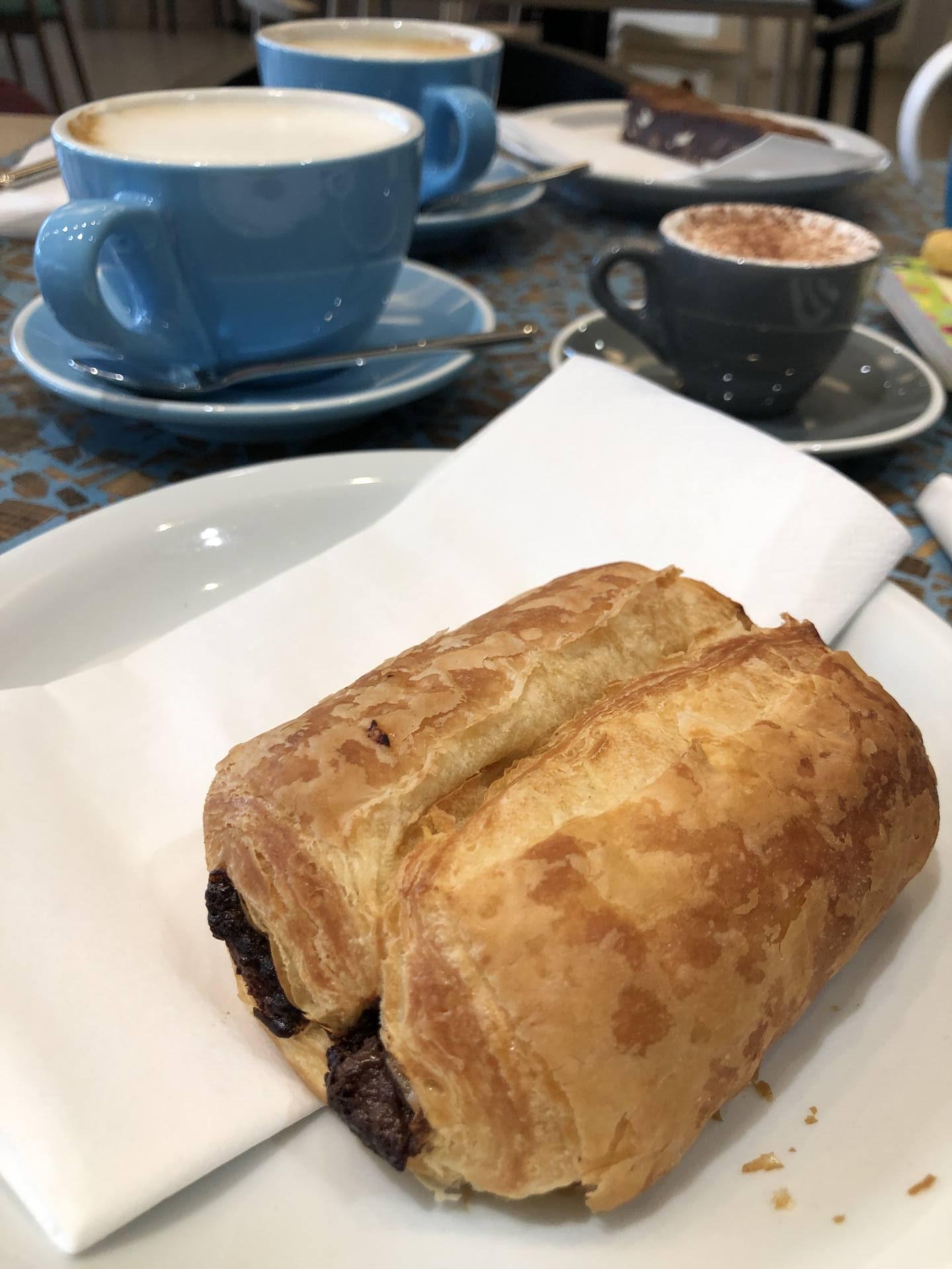 Midlands Art Centre (MAC) - Birmingham pain au chocolat