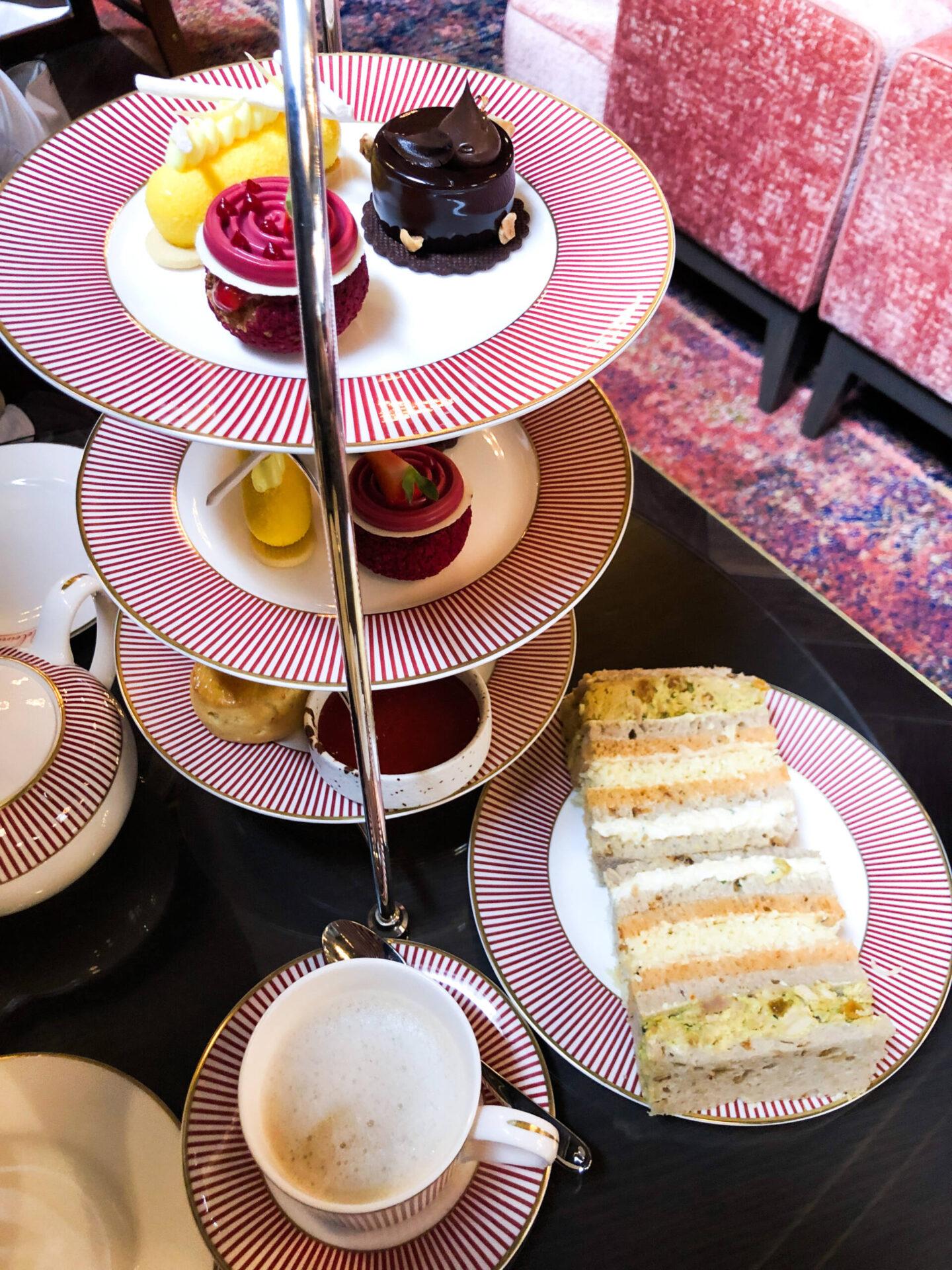 The Grand Hotel Madeleine Bar Birmingham Afternoon Tea