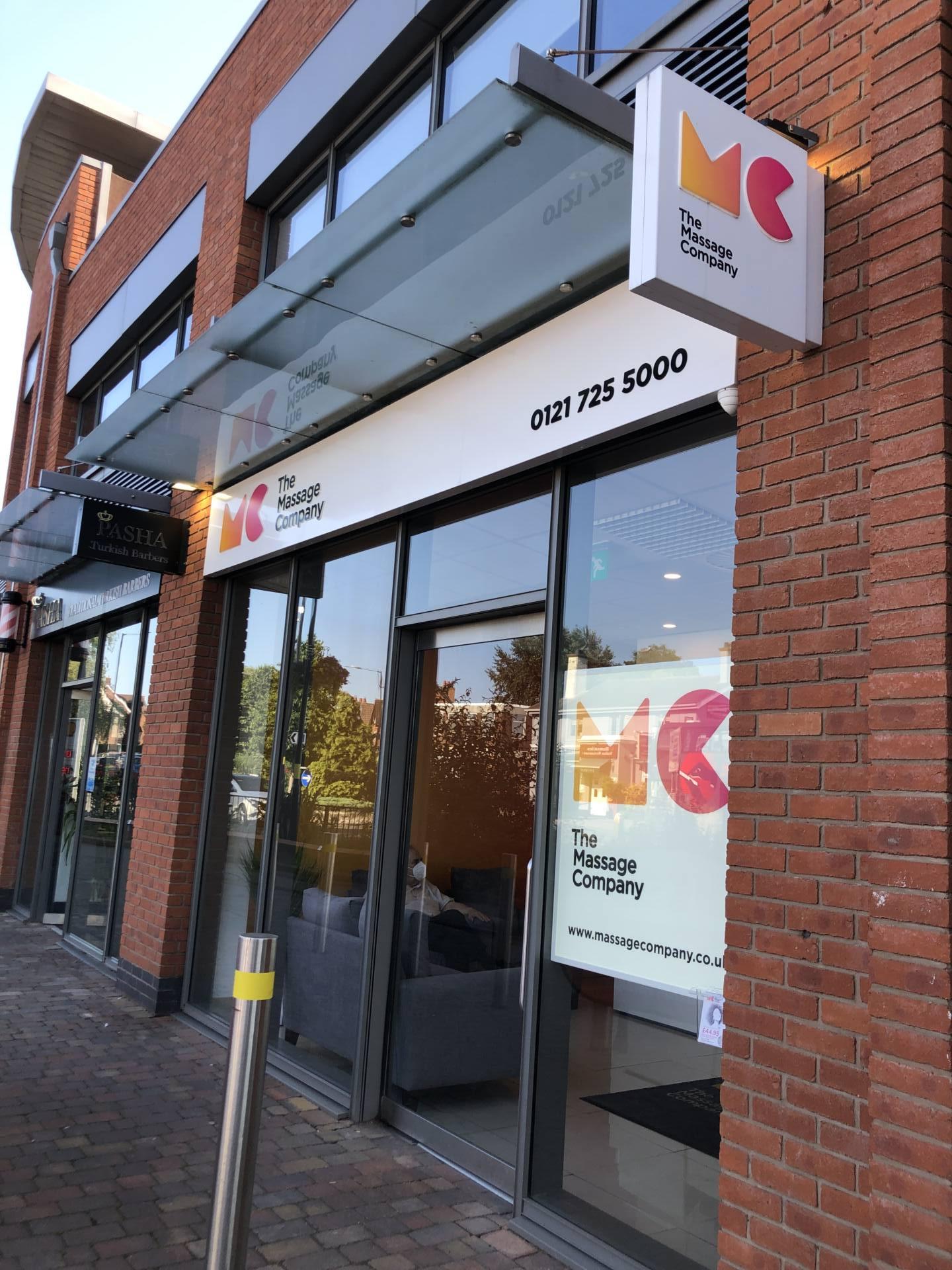 Emma Victoria Stokes - The Massage Company Front Entrance