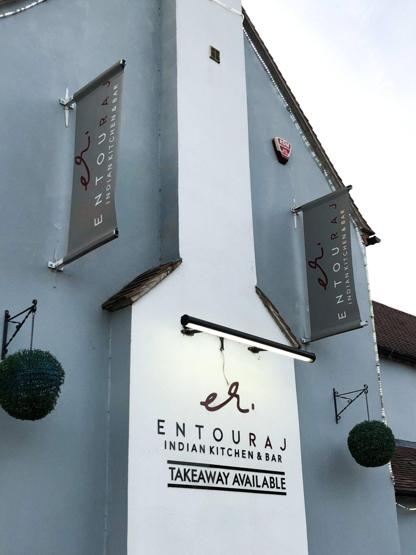 Entouraj - Droitwich Indian Restaurant Outside