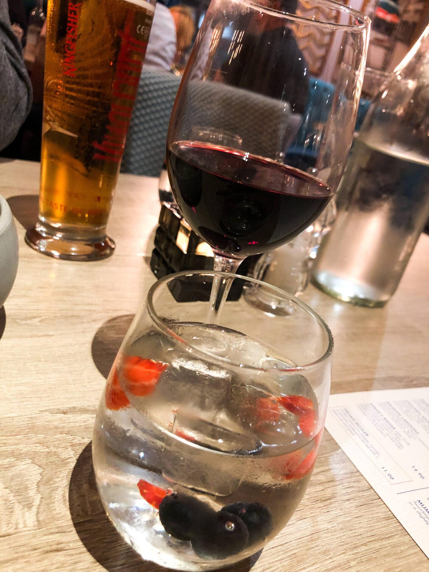 Entouraj - Droitwich Indian Restaurant Water